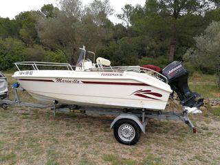 Barca 5m+ Remolque