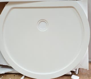 Artificial stone shower tray