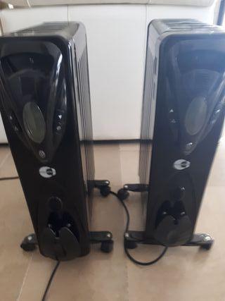 calefactores de aceite