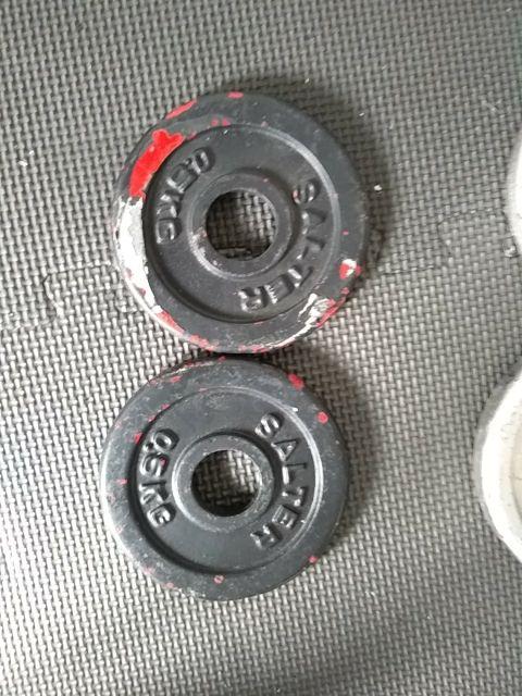 Discos peso gimnasio a 1€ el kg