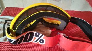 gafas mascara 100%