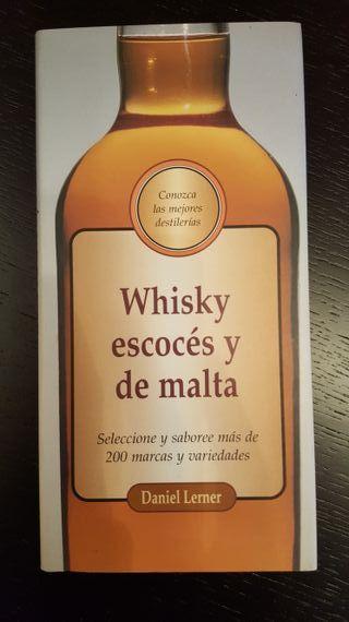 Libro. Whisky escocés y de malta.
