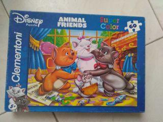 puzzle Disney animal friends