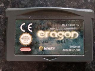 """Cartucho """"Eragon"""" de GameBoy"""