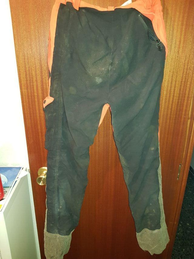 pantalones anti-corte motosierra