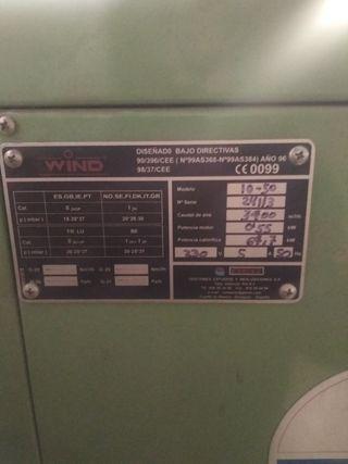calefactor industrial escucho ofertas