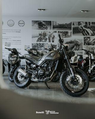 Moto Benelli Leoncino Trail 500