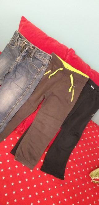 lote pantalones niño 3-4 años