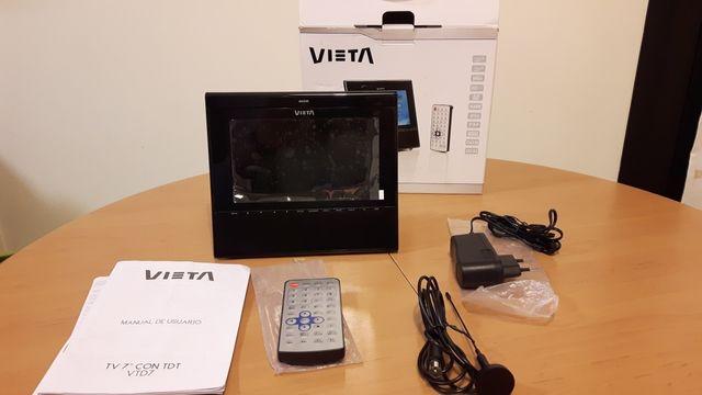 """Kit TV 7"""" portátil con TDT"""