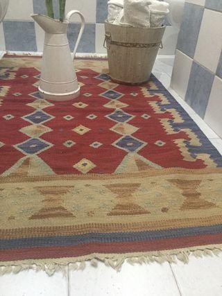 Kilim alfombra vintage