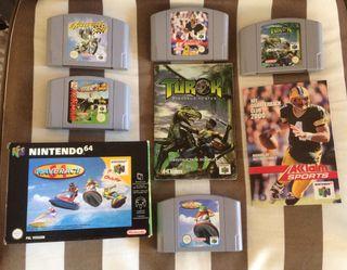 OFERTA!! Pack Juegos Nintendo 64