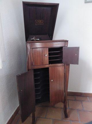 gramofono - tocadiscos americano