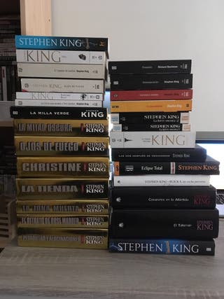 Pack 27 libros de Stephen King