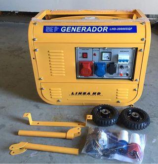 GENERADOR ELECTRICO CON RUEDAS 6KW