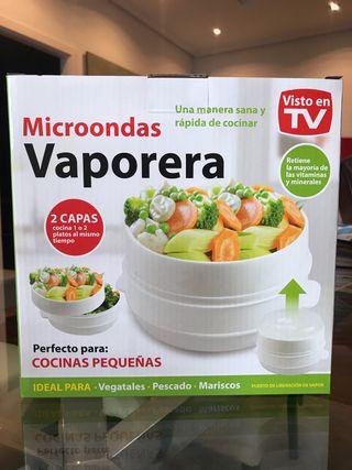 Vaporera microondas Visto en TV NUEVA