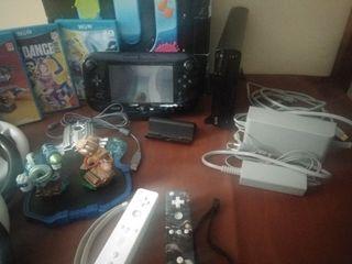 WiiU + juegos y accesorios