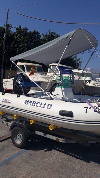 Barca semirrígida Aquaprix zodiac