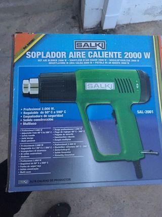 Soplador de aire caliente 2000 w