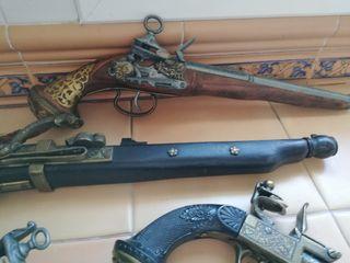Replicas de armas antiguas