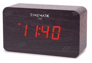 Reloj digital de madera Timemark CL43