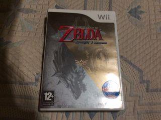 Videojuego Wii Zelda 'Twilight princess'