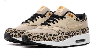 Mano Nike Por Air Max Talla Leopardo Zapatillas De 38 Nuevas Segunda WEHDI29Y