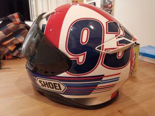 casco shoei nxr Márquez Indianapolis