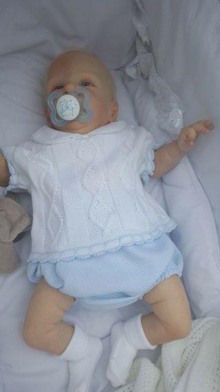 Beautiful Reborn Doll Roux by Cassie Brace