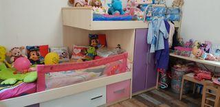 habitacion infantil tren