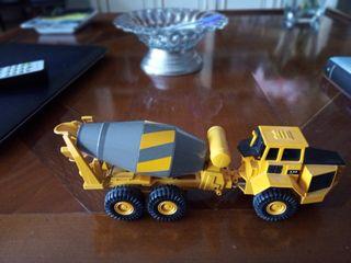 hormigonera escala metal camion joal excavadora