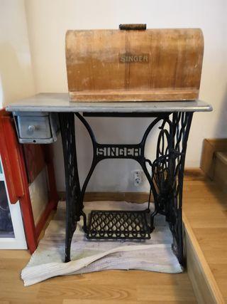 Máquina de coser Singer 1913