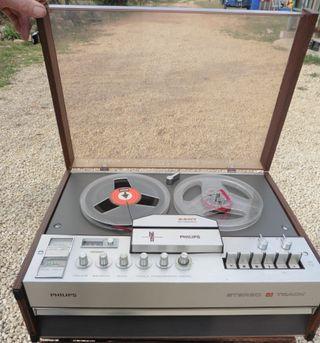 Magnetófono Grabador Philips 4407
