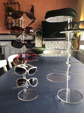Expositores de gafas