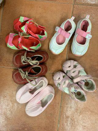 Lote zapatillas n24