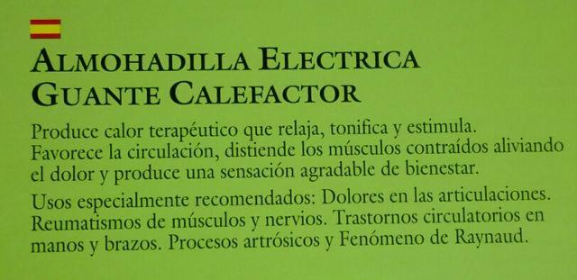 DAGA Guante Calefactor 20W