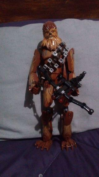 Figura lego Star Wars grande Chewbacca