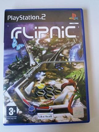 Juego Flipnic para PlayStation 2 PS2