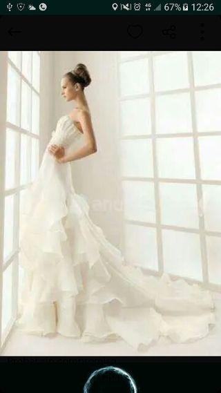 9abd88f3ac Vestido de novia Rosa Clara de segunda mano en la provincia de Álava ...