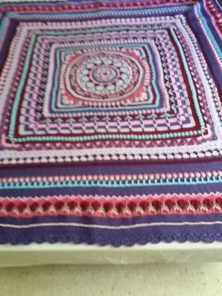 edredon de crochet