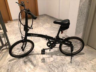 Bicicleta plegable BTWIN BFOLD 3