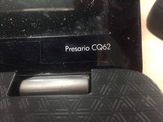 Portátil Compac presario cq62
