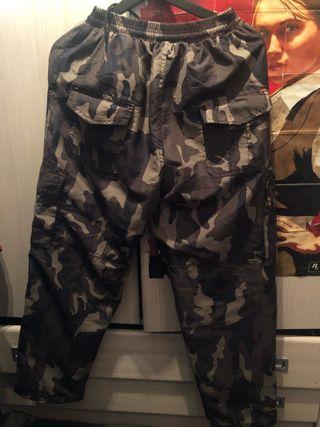 Pantalón de camuflaje térmico talla M