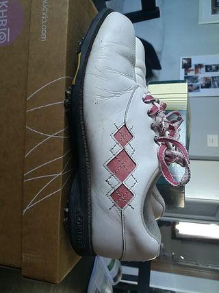 zapatos de mujer golf talla 40