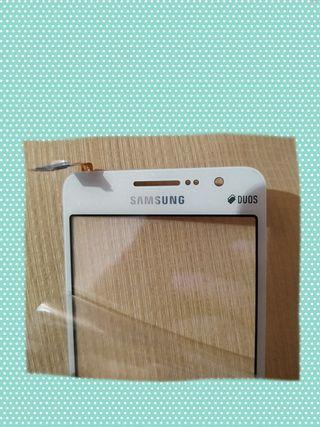 2 Pantallas táctiles blanca Samsung