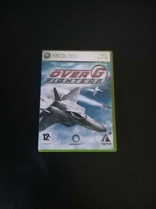 Vendo OVER G FIGHTERS de Xbox 360 sin usar