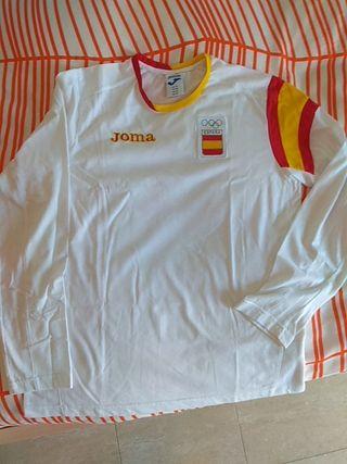 Camiseta comite olimpico español.