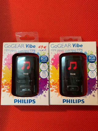 MP4 Philips 8GB Carga rápida SA4VBE08KF/12