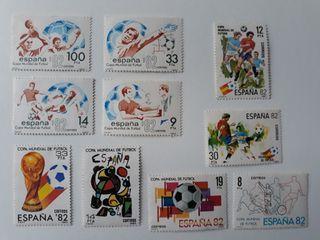 sellos mundial futbol España 82