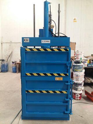 Prensa hidraulica 10Tn para cartón y plastico