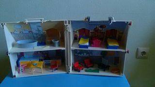 Juguetes Casa Muñecas Playmobil poco uso